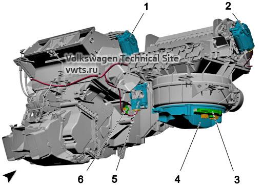 Climatronic, KH7, VW Tiguan 2