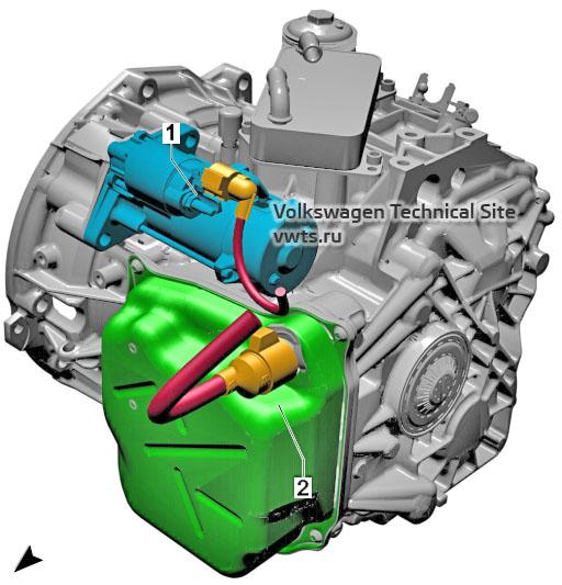 Dual clutch gearbox, 0DL VW Tiguan 2