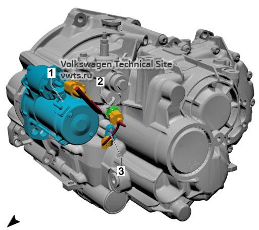 Manual gearbox, 02Q, 0BB VW Tiguan 2