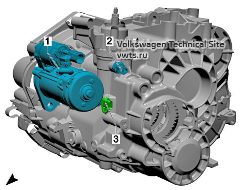 Manual gearbox, 0A6 VW Tiguan 2
