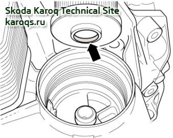 Замена масла и фильтра в коробке передач 0D9 (DQ250, DSG6)