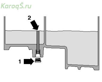 Замена масла в коробке передач с двойным сцеплением (DSG) 0GC