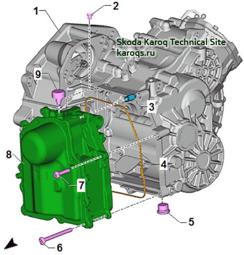 Краткое описание компонентов мехатроника 0CW