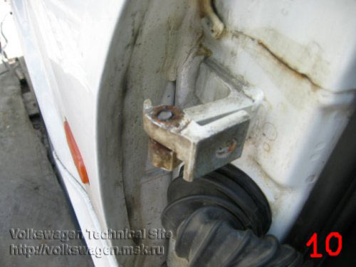 Замена петель двери на Фольксваген Пассат Б3 и Б4