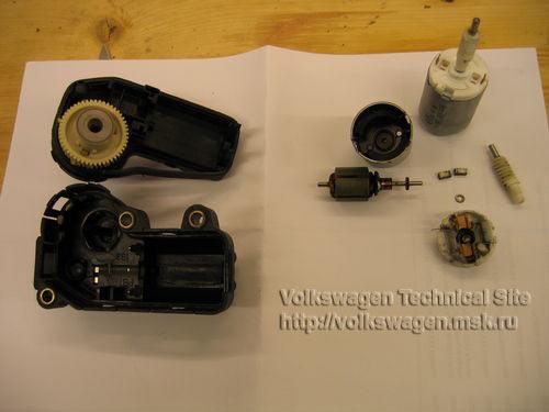 Ремонт шагового моторчика Mono-Motronic