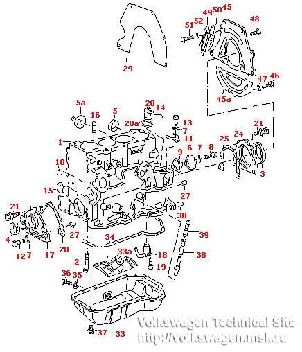 Замена вкладышей промежуточного вала на двигателе