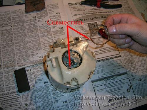 Ремонт бензонасоса для двигателя AAM