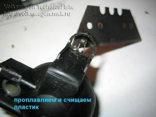 Ремонт датчика температуры впускного воздуха