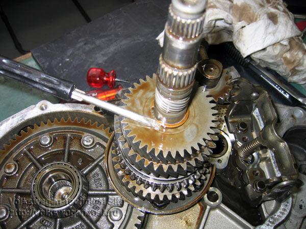 ремонт коробки передач МКПП типа 02К