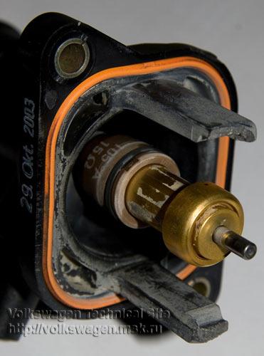 Замена термостата с электронным регулированием