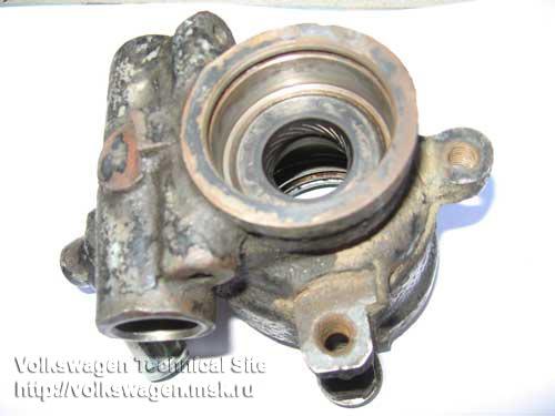 Полный разбор насоса ГУР на VW Passat B3, двигатель RP