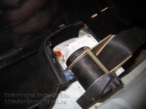 Замена задних амортизаторов и пружин VW Passat B3, B4