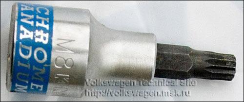 Замена сальника фланца выходного вала МКПП типа 020