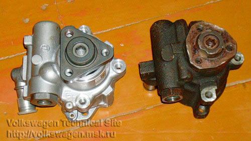 фольксваген пассат в3 ремонт насоса гур