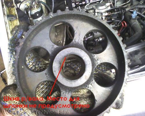 Замена ремня ГРМ на двигателе Фольксваген AAZ