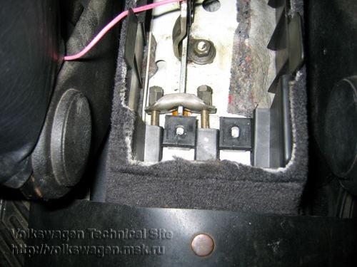 ручник на фольксвагене пассат б5
