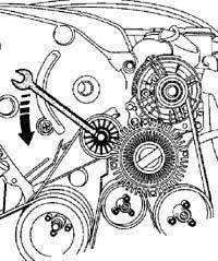 Замена ремня на двигателе AHU