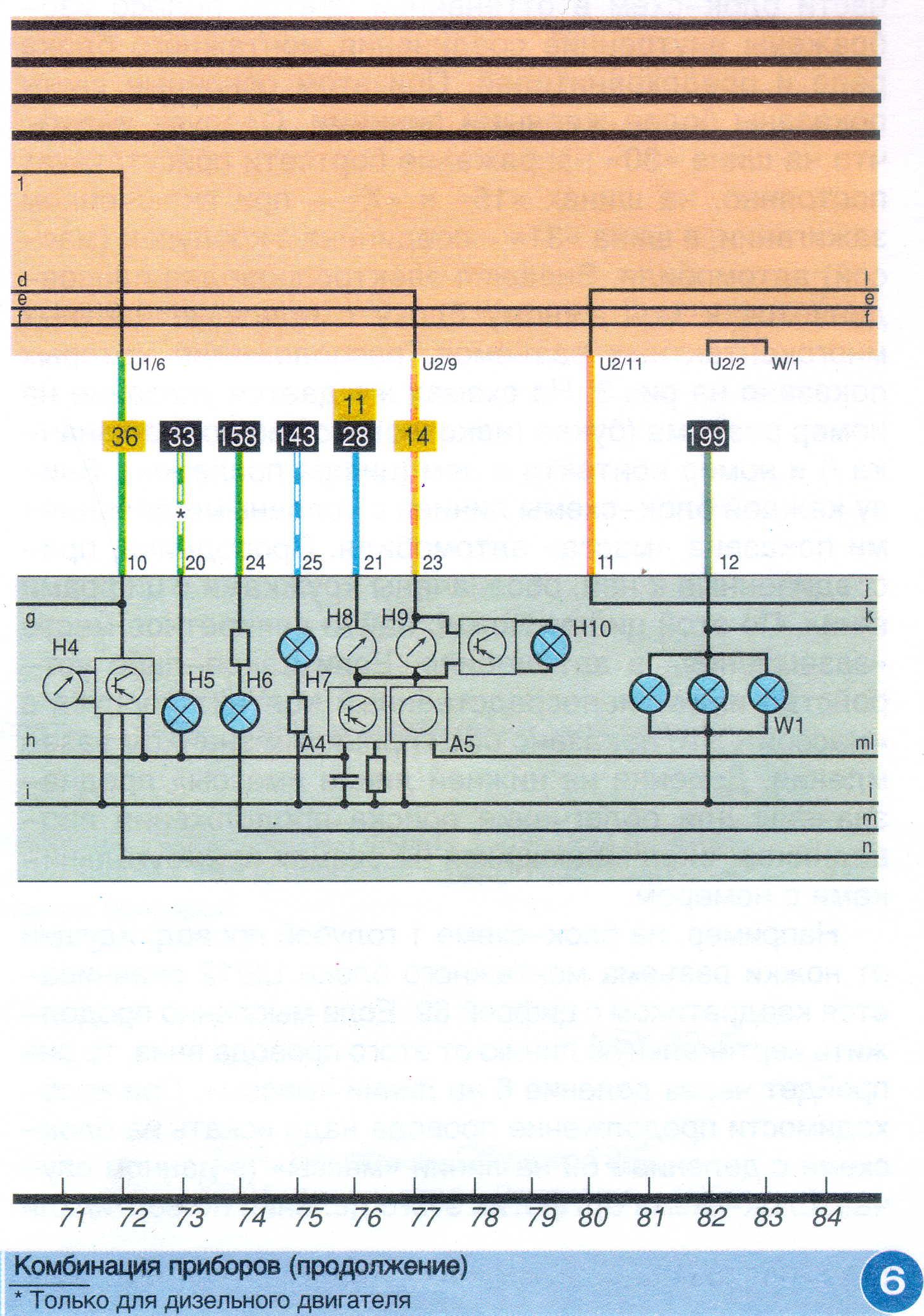 Схема электрооборудования пассат б3 918