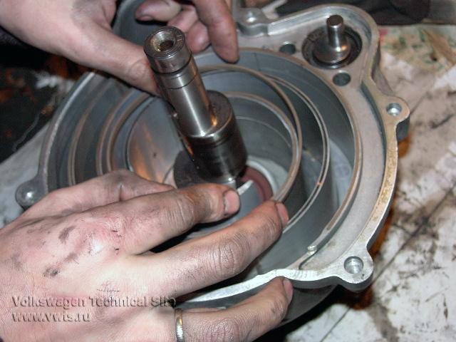 Ремонт турбонагнетателя G60