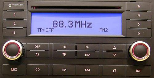 разблокировать магнитолу фольксваген поло 2002