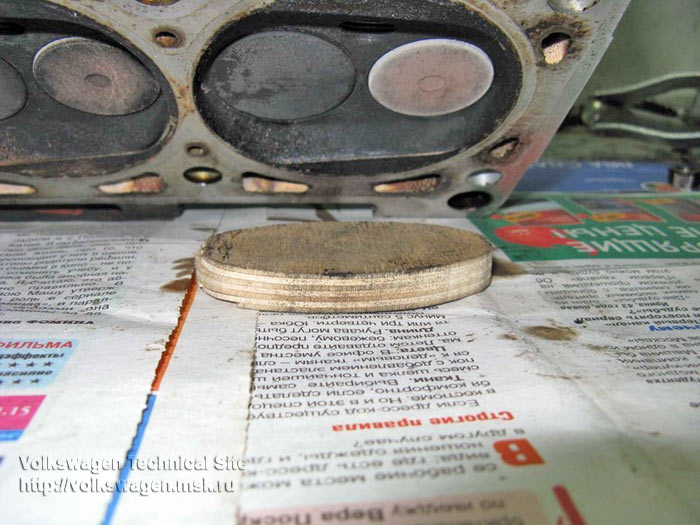 Замена прокладок ГБЦ на двигателе RP