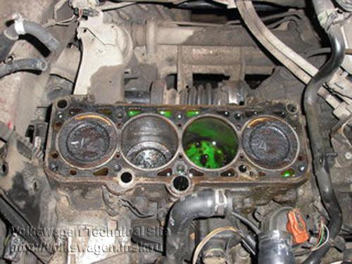 ремонт двигателя фольксваген в4