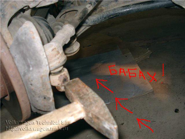 как снять рулевую рейку фольксваген пассат б-3