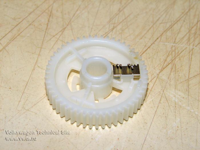 Climatronic ремонт шестеренки электропривода управления рециркуляцией воздуха в салоне