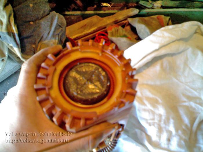 Снятие и чистка бензонасоса на Фольксваген Поло
