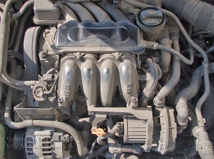 Двигатель avu 1.6 схема