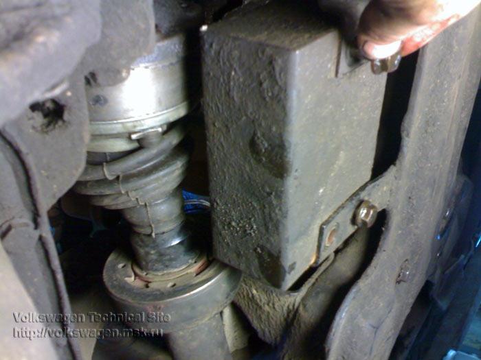 Замена рулевой тяги на VW Passat B3