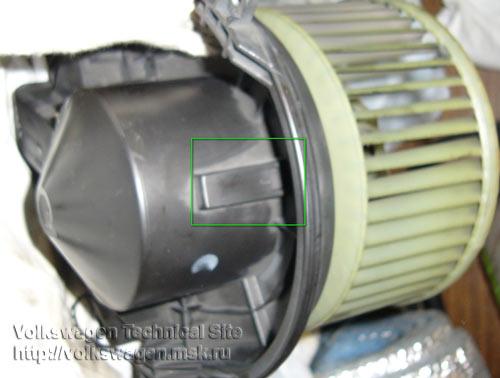 замена моторчика печки фольксваген пассат б5+ фотоотчет
