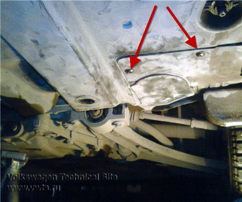 Замена лямбда-зонда на VW Golf 5