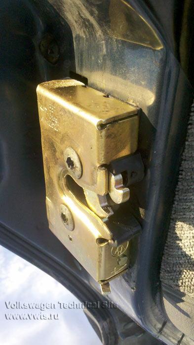 Установка замков дверей на Пассат Б3 от Chery Amulet