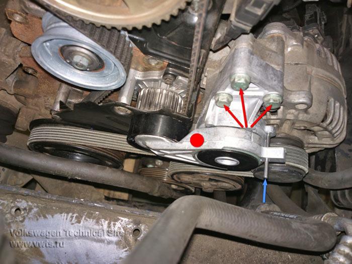 Замена приводного ремня фольксваген транспортер рено как транспортер