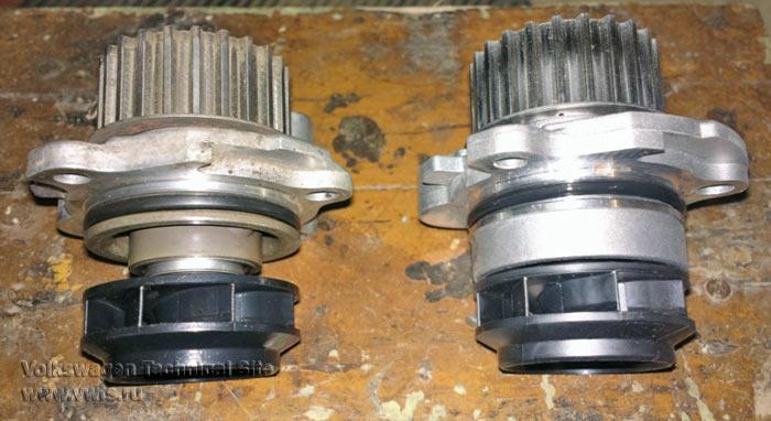 Замена ремня ГРМ на двигателе Фольксваген AXA