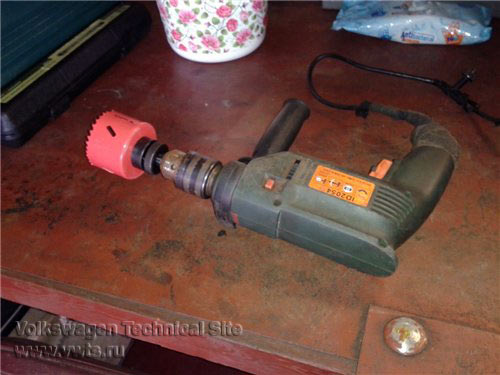 Модификация защиты картера на двигателе BSE