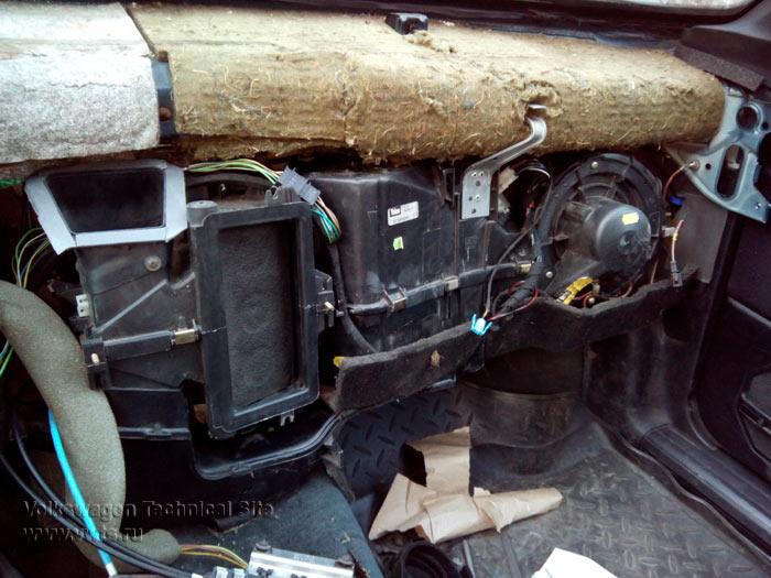 Установка кондиционера на фольксваген утилизация машин стиральных в иркутске