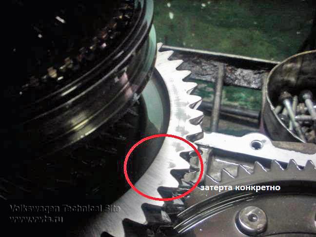 Ремонт люфта 6 ступенчатых МКПП 02N, 02M, 02Q, 02Z, 0А5