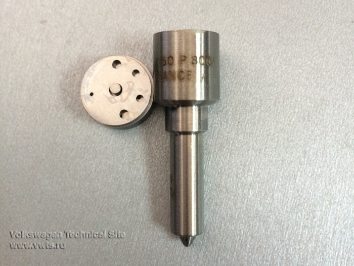Фольксваген Туран ремонт насос-форсунки на двигателе BKC