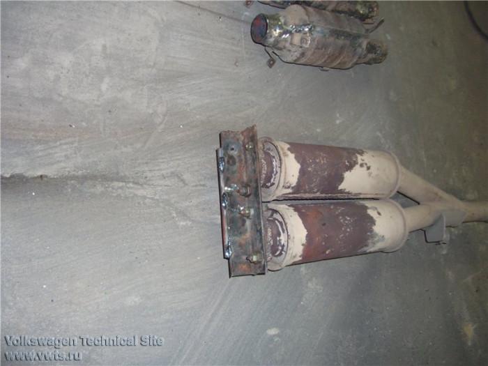 Замена штатного катализатора Фольксваген Пассат Б3, Гольф 2