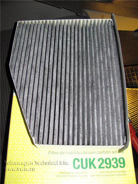 Замена салонного фильтра в Volkswagen Caddy (2K)