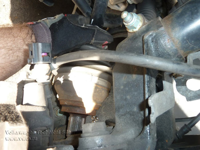 Ремонт передней подвески VW Jetta