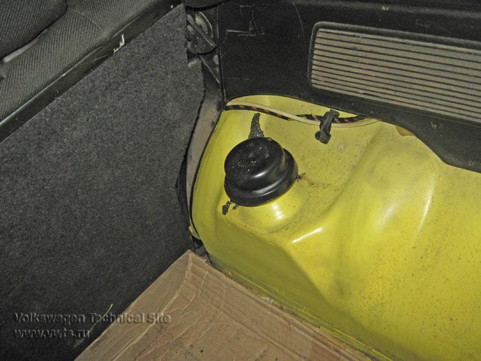 Замена пружин в VW Golf 3