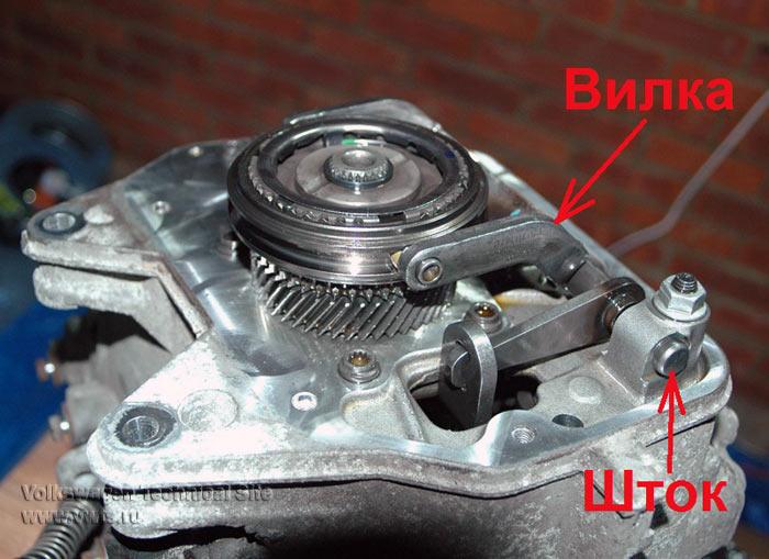 Переборка коробки передач 02T, замена подшипников в МКПП типа 02Т