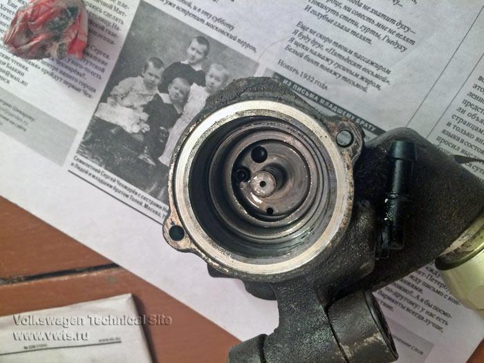 Ремонт насоса АБС в ABS MK2 Teves
