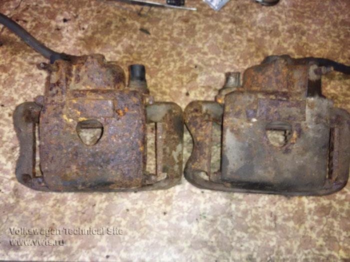 Восстановление суппортов VW II