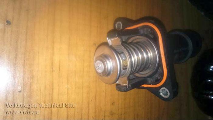 Снижение температуры двигателей 1,6 с электронным термостатом