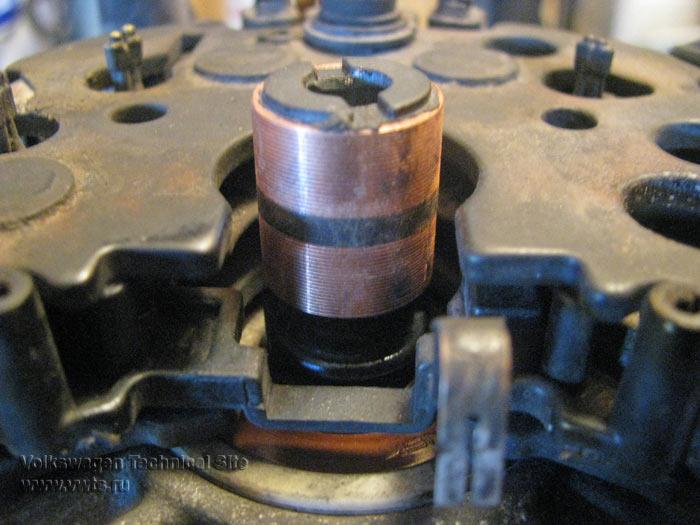 Замена токосъёмных колец генератора Bosch