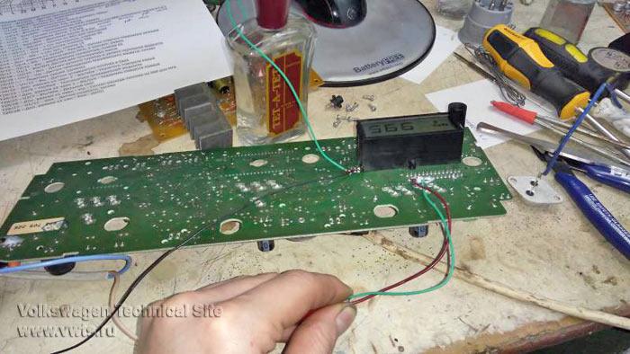 Ремонт приборной панели VDO